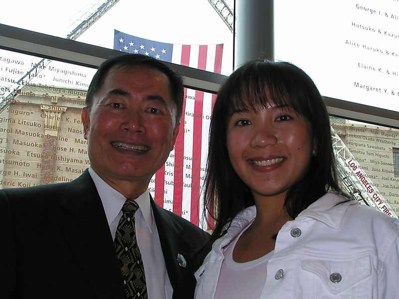 Takei and me 2004